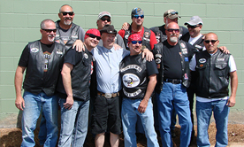 2013 Burton Center Motorcycle Run - Group Shoot