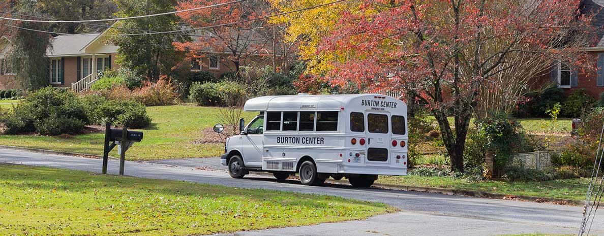 Burton Center Bus