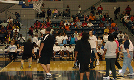 Burton Center Staff and Consumer Basketball Game