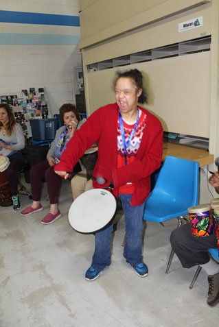 2018 Drum Therapy Session - Drumming!