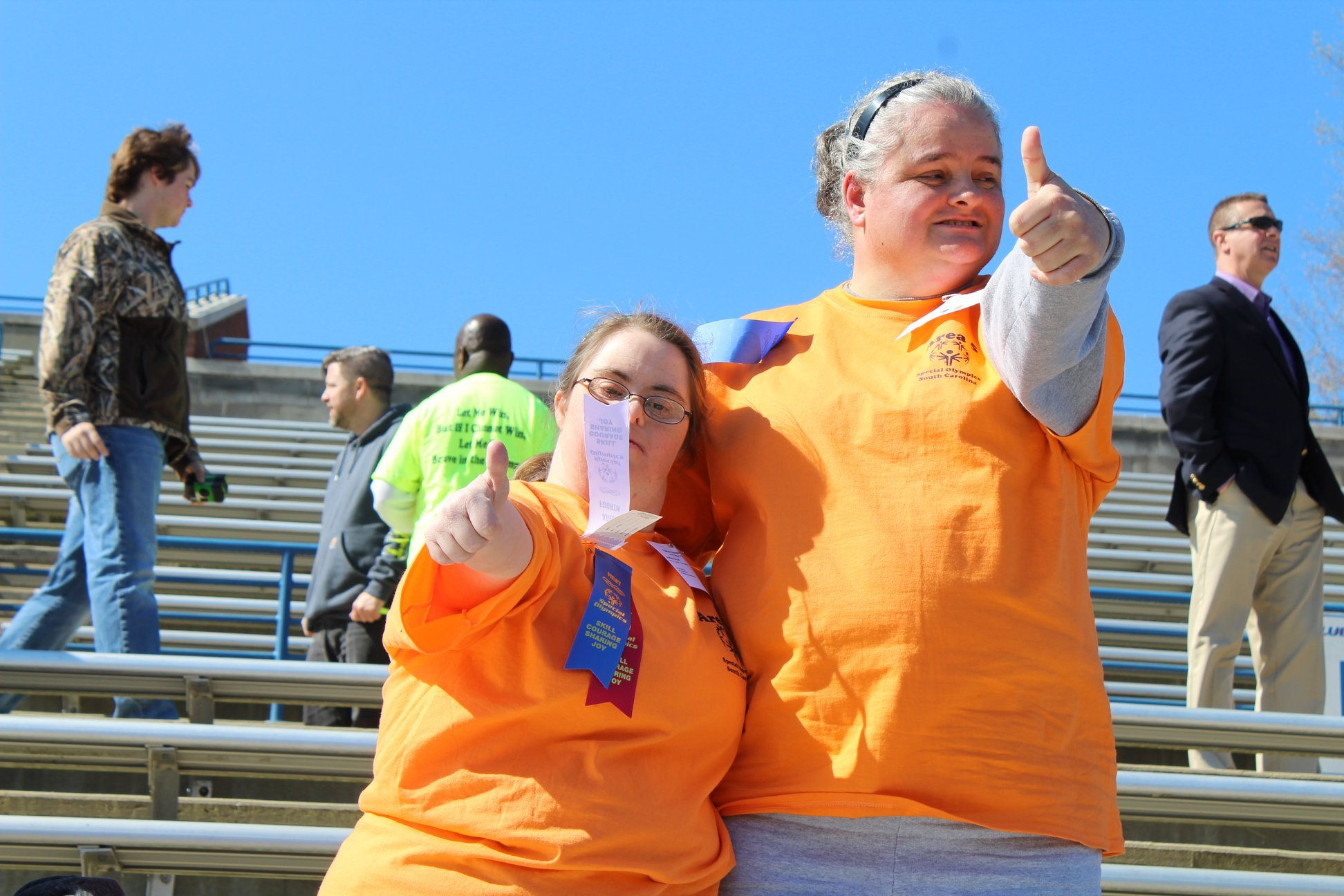 Special Olympics 2018 - Thumbs up!