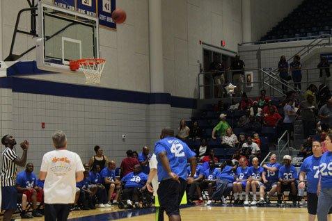 2018 Basketball Game - Action Shot