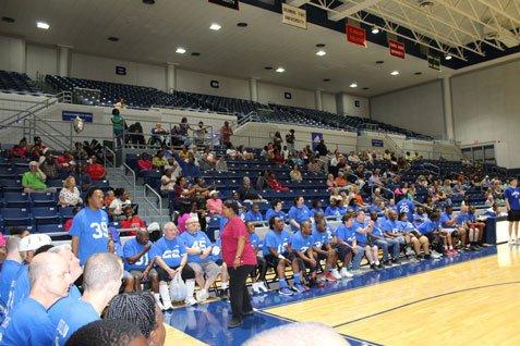 2018 Basketball Game - Crowd