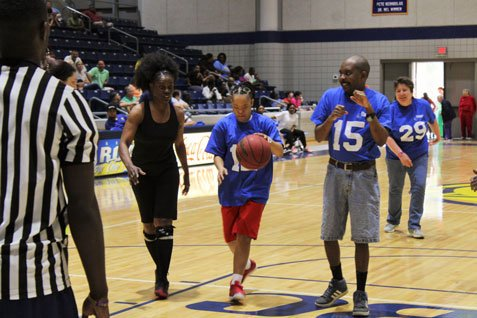 2018 Basketball Game - Action Shots