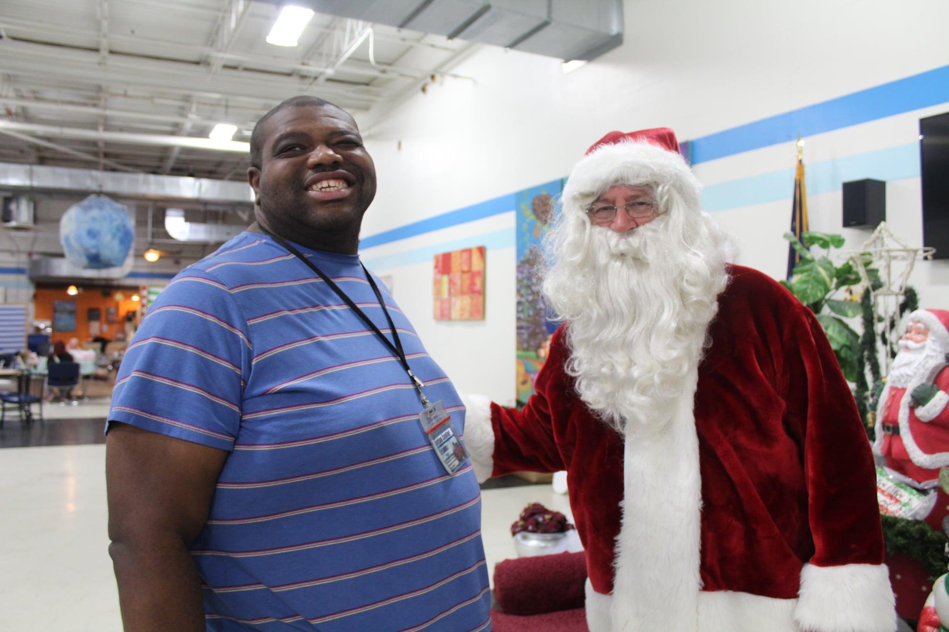 Christmas at the Burton Center