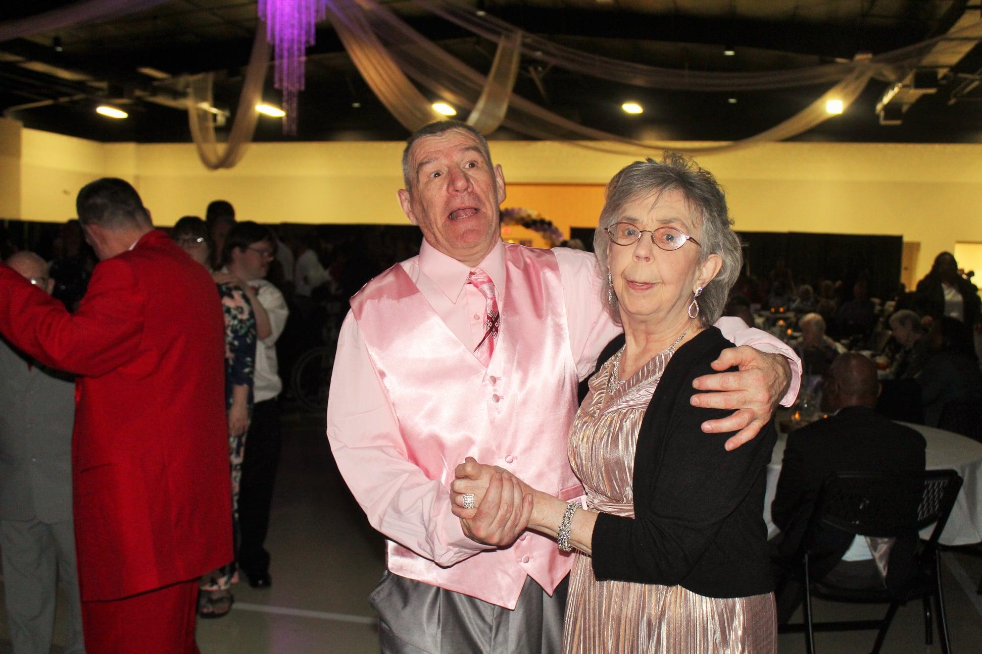 Dancing at the Burton Center Ball 2019