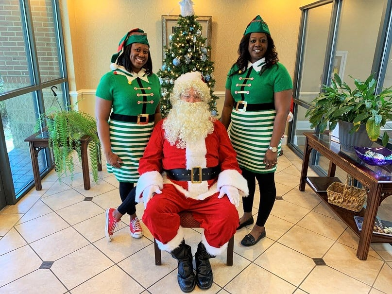 Christmas at the Burton Center 2019