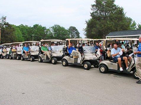 2017 Golf tournament - Golf Carts