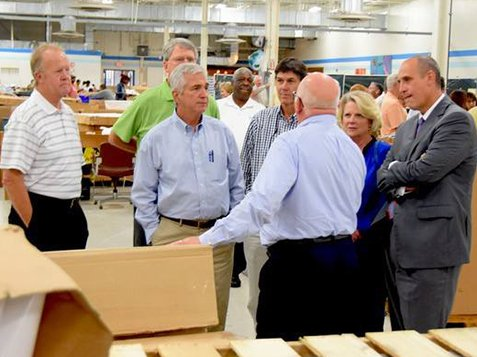 Greenwood Citizens Visit Burton Center - Talking To Five Citizens