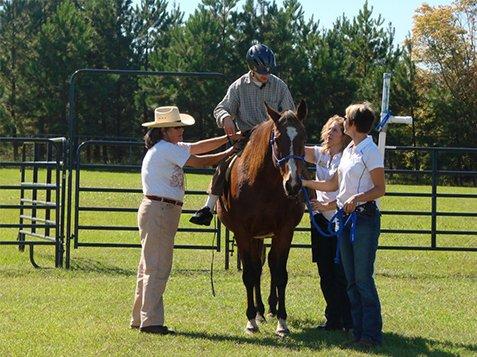 Enjoying Horse Back Riding