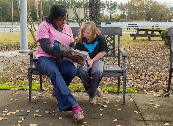 Burton Center Reading