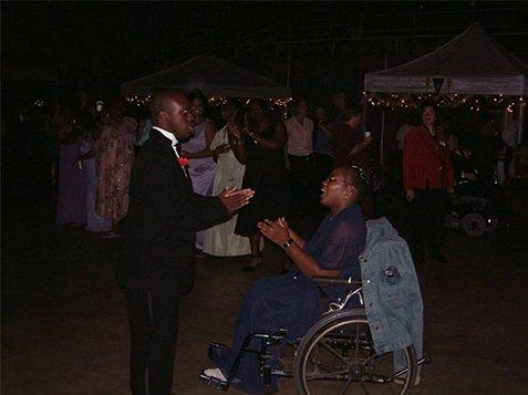 Burton Center Foundation Prom Night - Couple on the Dance Floor