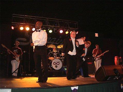 Burton Center Foundation Prom Night - Dancing on Stage